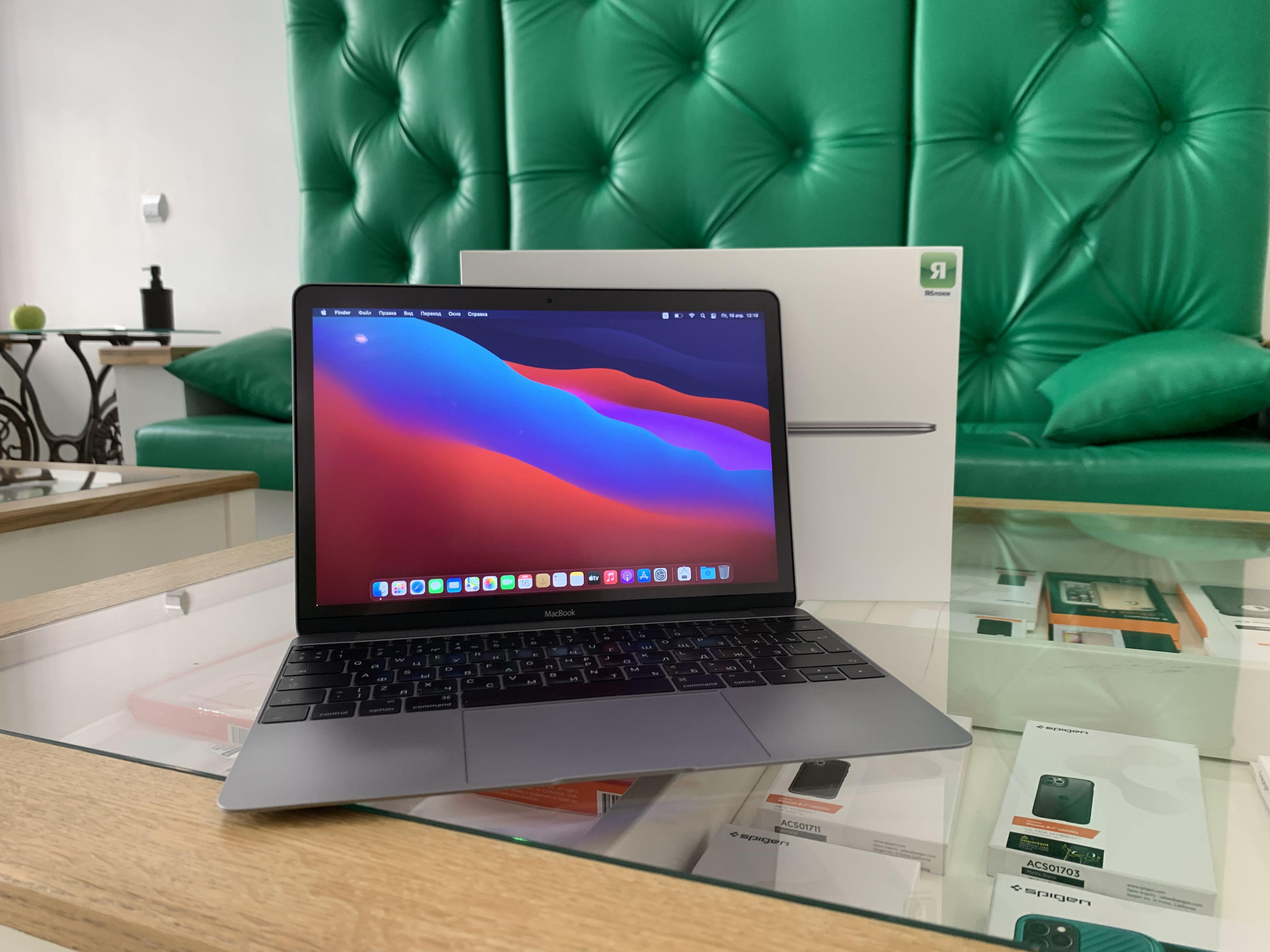 MacBook 12' (MLH72RU/A) Space Grey 1,1ГГц M3/8Gb/256GB SSD