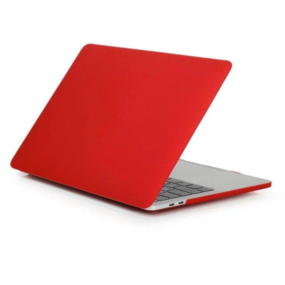 Накладка Devia Hard Jacked для Macbook Pro 15 (2016+) - Red
