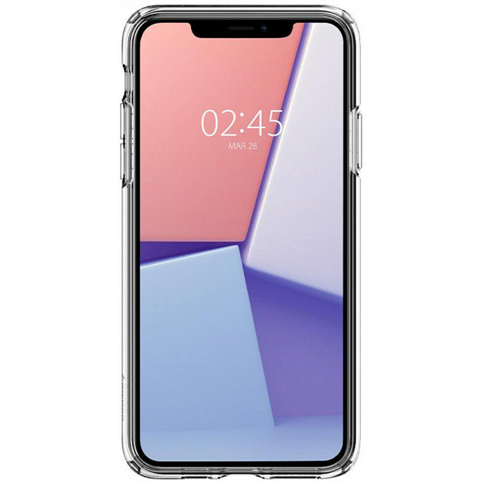Чехол Spigen Liquid Crystal для iPhone 11 Pro Max (Space Crystal)