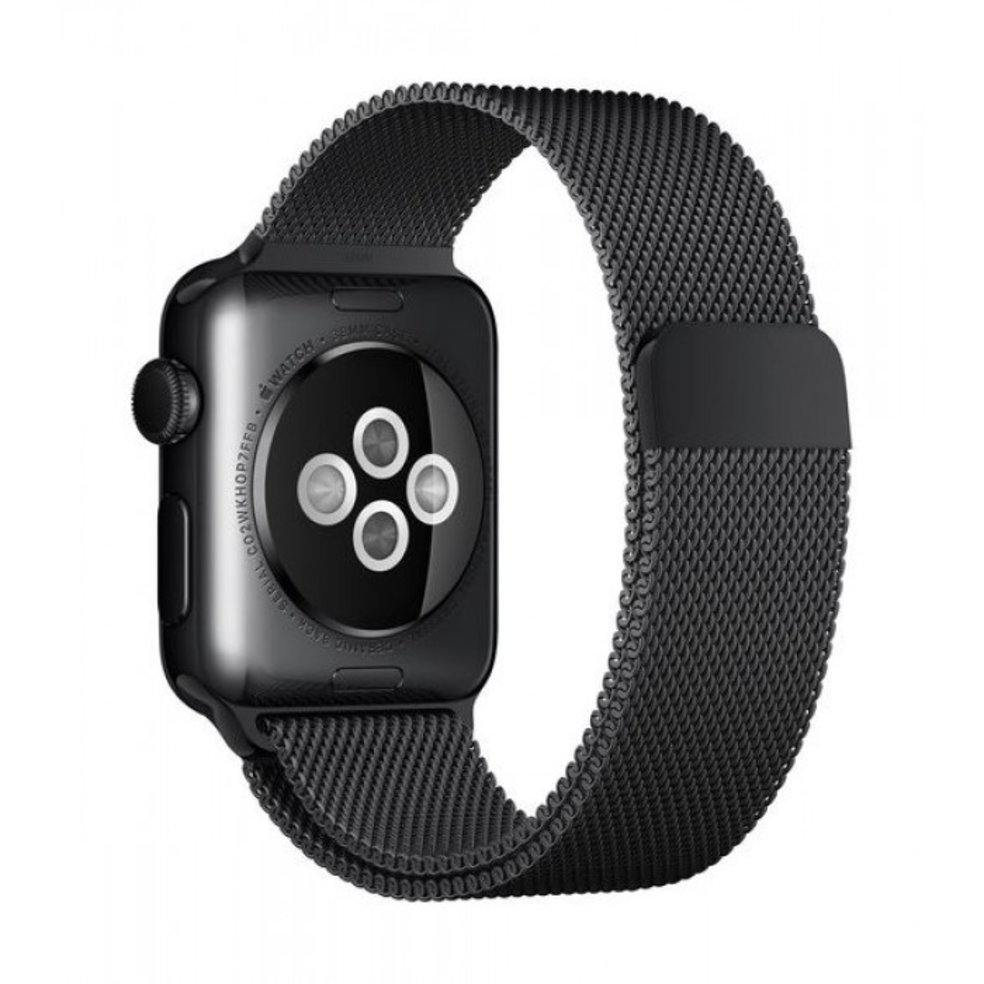 Ремешок Devia Elegant Milanese Loop Black 42/44mm