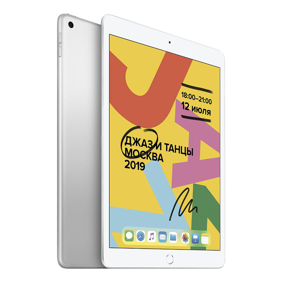 "Apple iPad 10,2"" Wi-Fi + Cellular 128 ГБ, Silver"