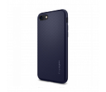 Чехол Spigen SGP Liquid Air для iPhone 7/8/SE (2020) (Midnight Blue)