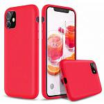 Чехол Devia Nature Silicone Case Red для iPhone 11