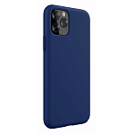 Чехол Devia Nature Silicone Case Blue для iPhone 11 Pro Max