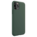 Чехол Devia Nature Silicone Case Green для iPhone 11 Pro Max