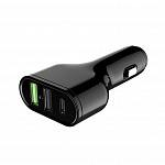 Автомобильное ЗУ Devia Swift Drive Car Charger 2 USB + Type-C