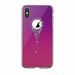 Чехол Devia Angel Tears Purple для iPhone Xs/X